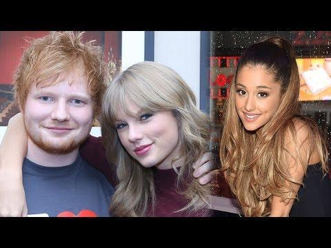 Ariana Grande & Taylor Swift FIGHT Over Ed Sheeran?!