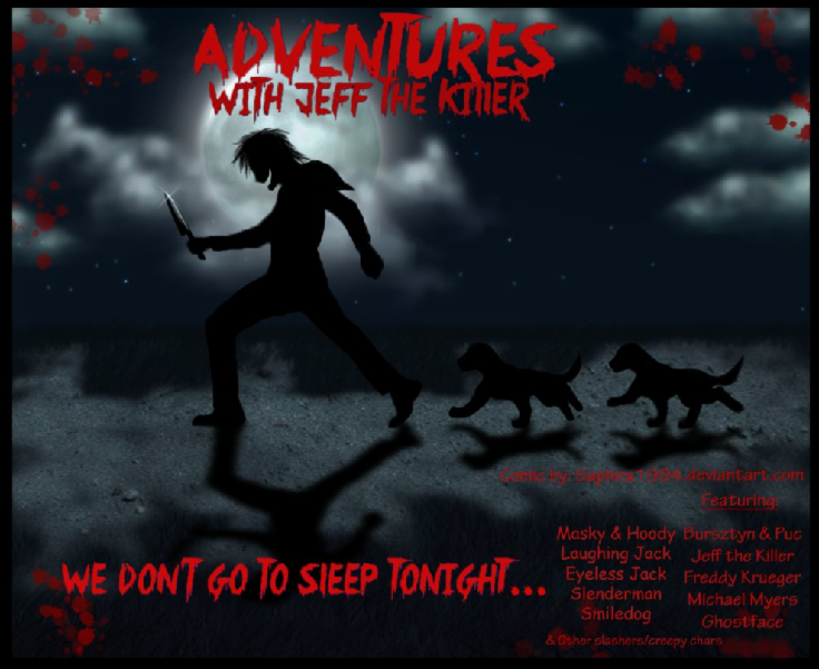 Adventures With Jeff The Killer - COVER by Sapphiresenthiss on DeviantArt