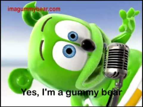 The Gummy Bear Song With Lyrics