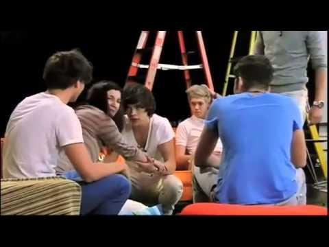 One Direction get pranked {Nickelodeon}