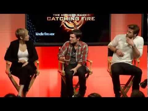 Q&A with The Hunger Games: Catching Fire Cast and Director at Facebook HQ