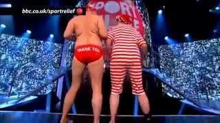 David Walliams and Miranda Hart - BBC Sport Relief Night