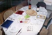 Passover and seder meal