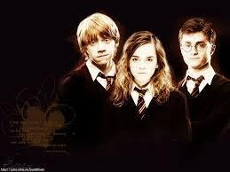 harry potter - harry potter trio !!!! harry ,Ron and hermione !
