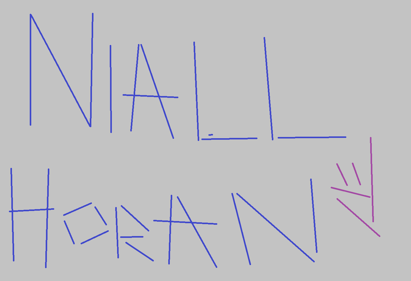 NIALL HORAN QUIZ: