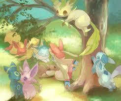 What Eeveelution Are You? (1)