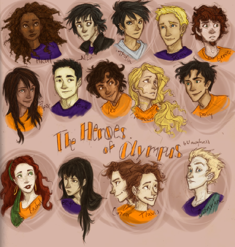 Your PJO and Hoo life! *Spoilers*