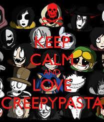 Can you pass creepypasta?