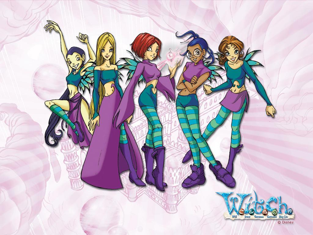 witch W.I.T.C.H girl are u?