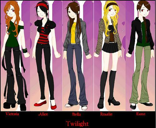 WHICH CHARACTER ARE YOU MOST LIKELY TO BE FROM TWILIGHT?