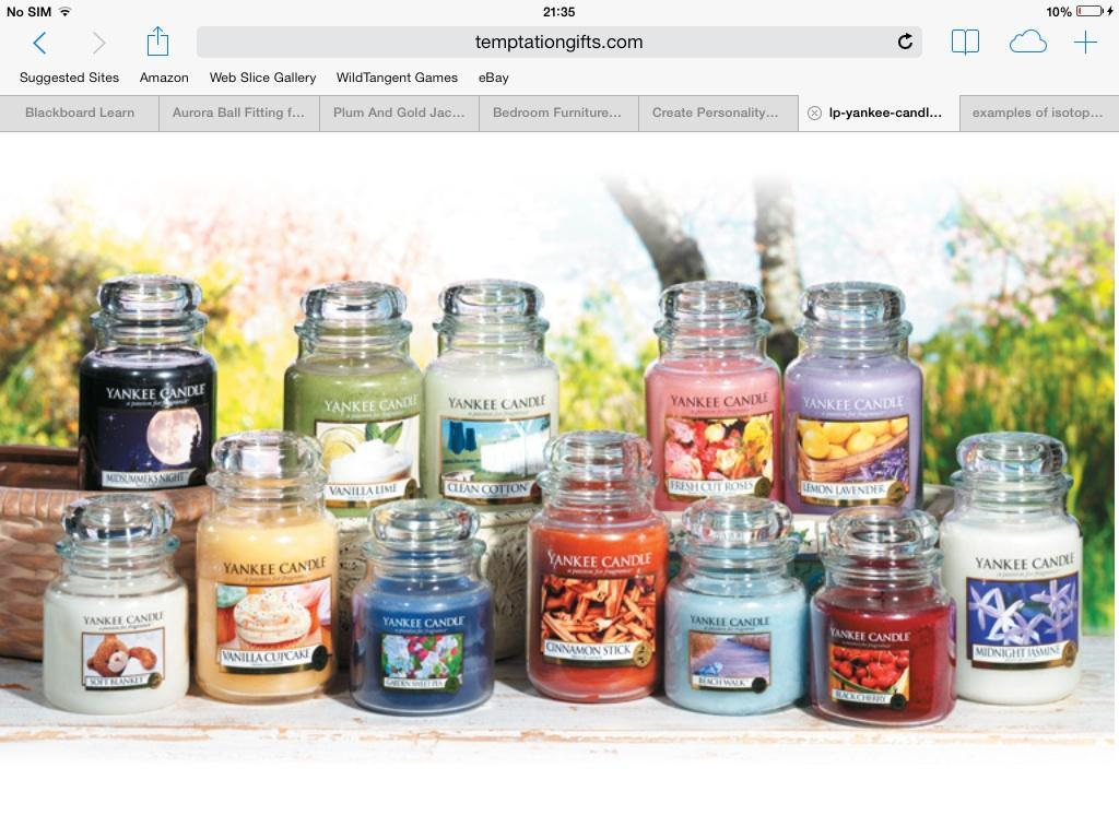 What scented Yankee kandle Are you?