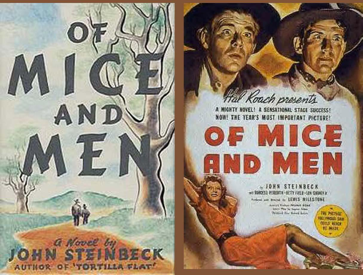 an essay on the famous novel of mice and men by john steinbeck