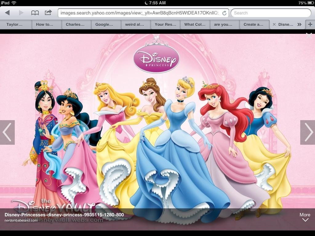 What Disney Princess are you? (8)