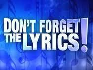 Don't Forget the Lyrics!