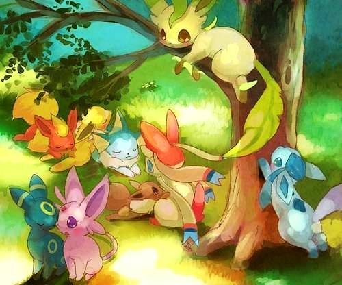 What Eeveelution Are You? (2)