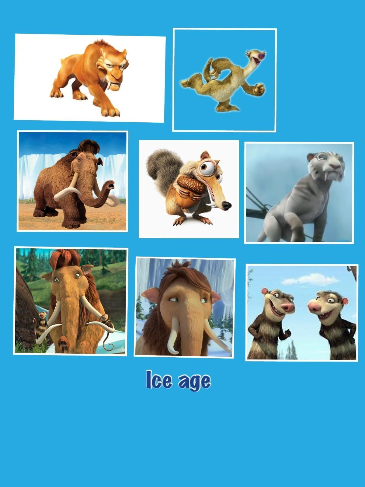 What ice age character are you