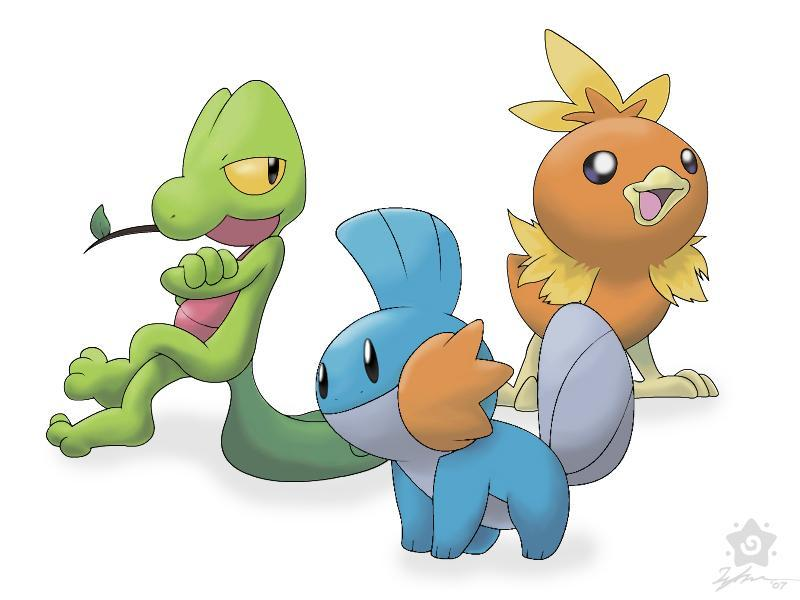 What Hoenn Starter Pokemon are you