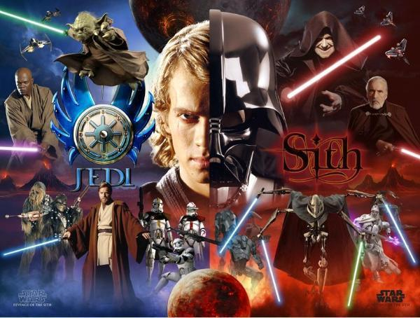 Are you a Sith or Jedi?