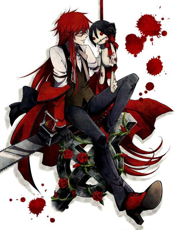 are you grell's best friend?