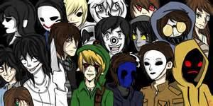 Which creepypasta boy is your bff?