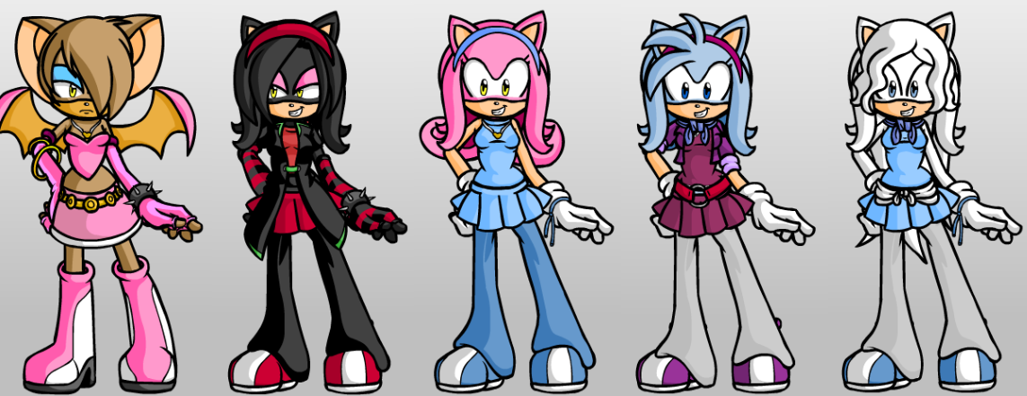 Which of my Sonic OC's are you?