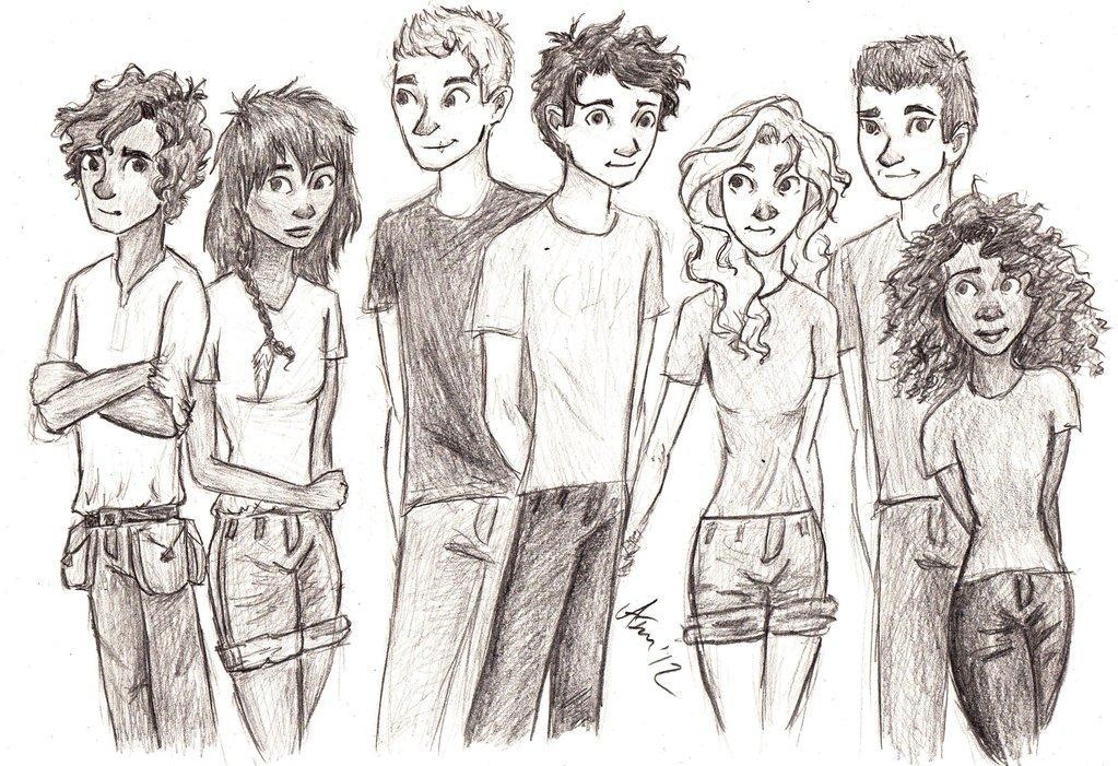 Which Heroes of Olympus character are you? (1)