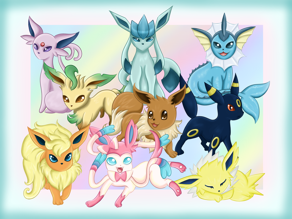 What Eeveelution Are You? (4)