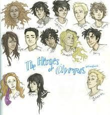 Who are you from Heroes of Olympus?