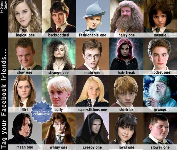 What do the Harry Potter Characters Think of you?