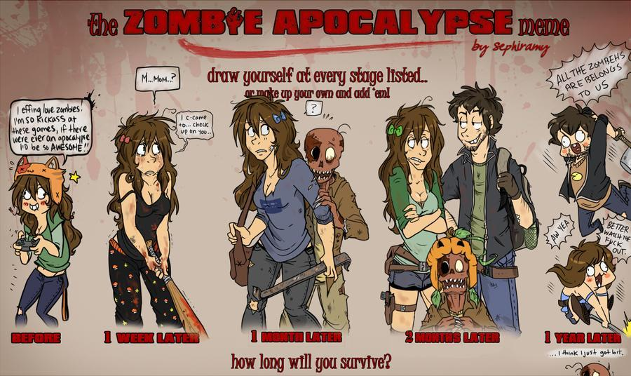 Will you survive the Zombie Apocalypse? (1)