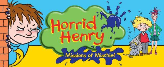 WHICH HORRID HENRY CHARACTER ARE YOU?