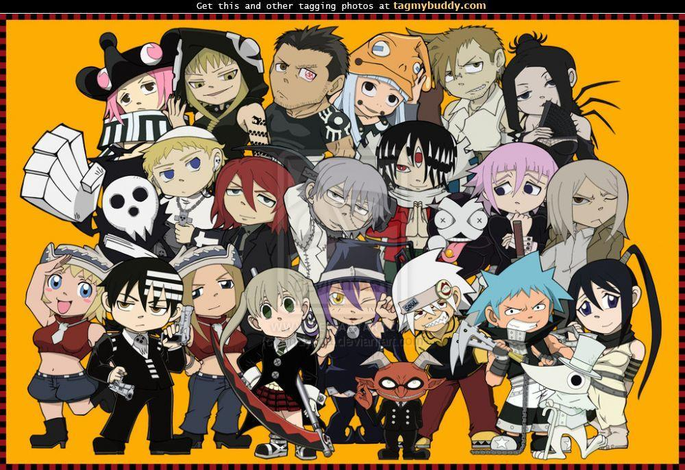 What Soul Eater characters think of you.