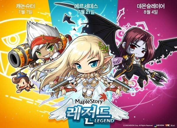 Which MapleStory Legends class are you?