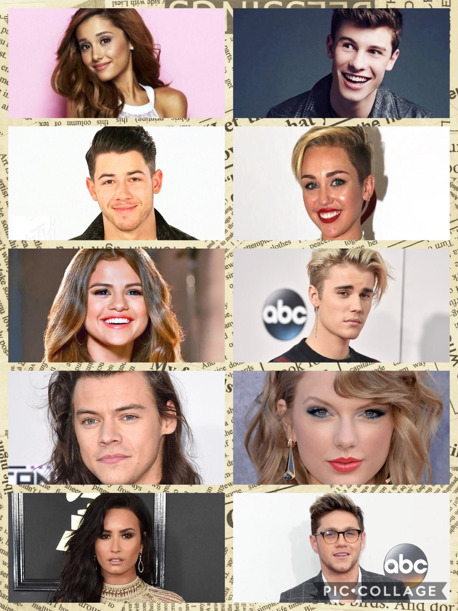 Which celeb are you most like? (1)