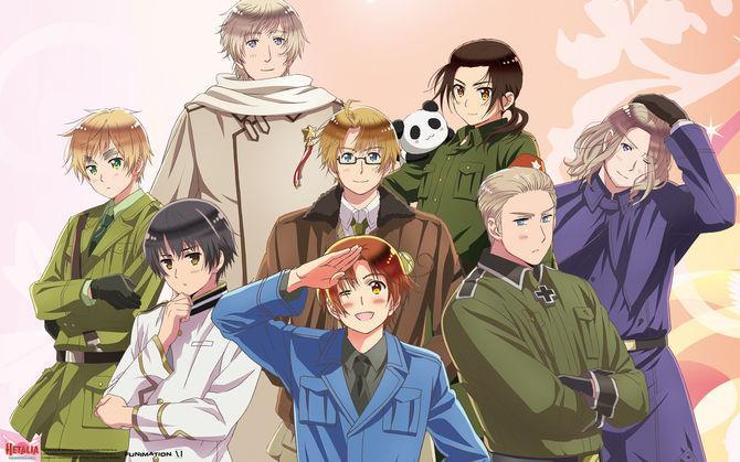 Which Hetalia character are you ?