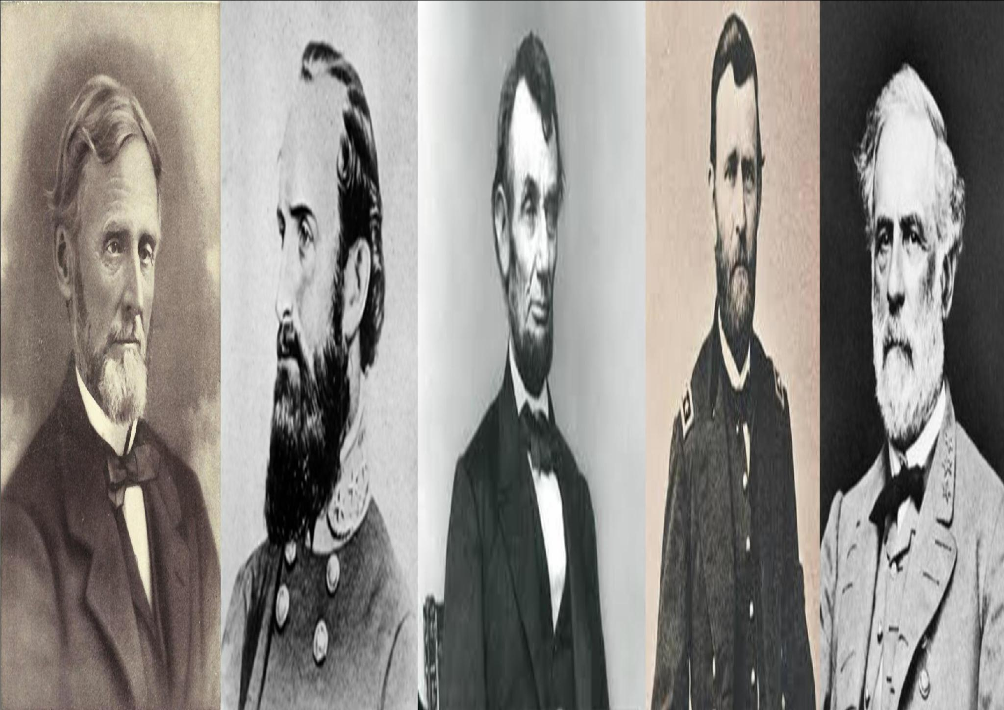 Important leaders of the Civil War