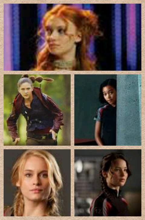 Which one of the main characters are you in THG (girl)