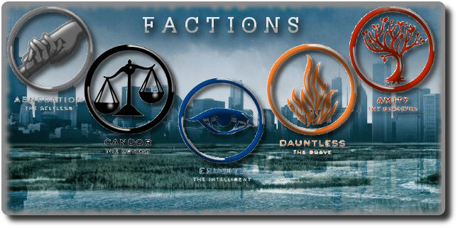 What Divergent Faction do you Belong in? (1)