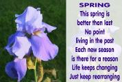 What Spring poetry do you fall better?