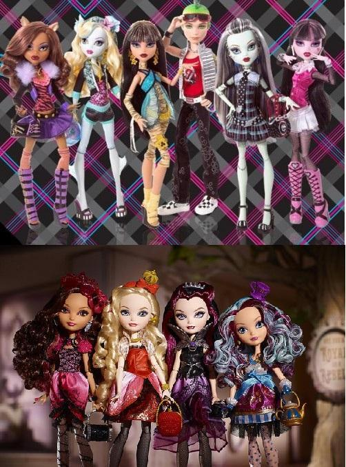 Are You a Monster High Geek or a Ever After High Geek.