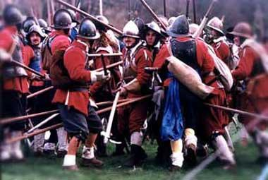 The English Civil War.