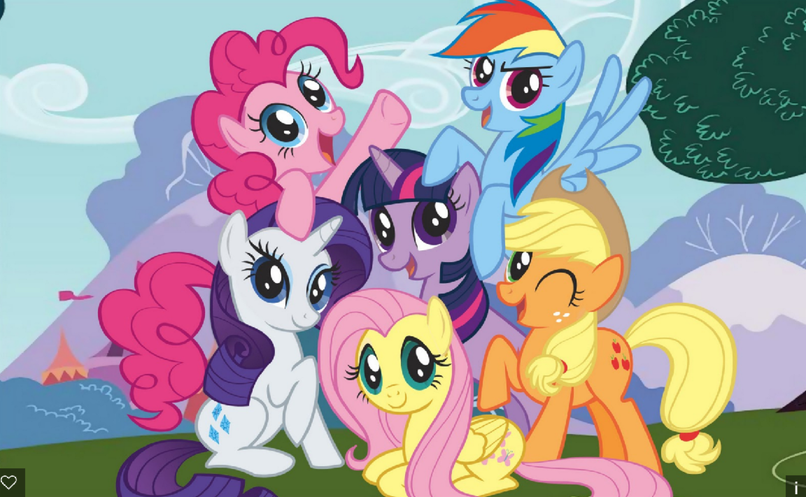 what mlp pony are you? (1)