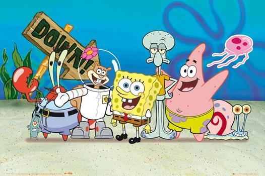 Which Spongebob character are you? (6)
