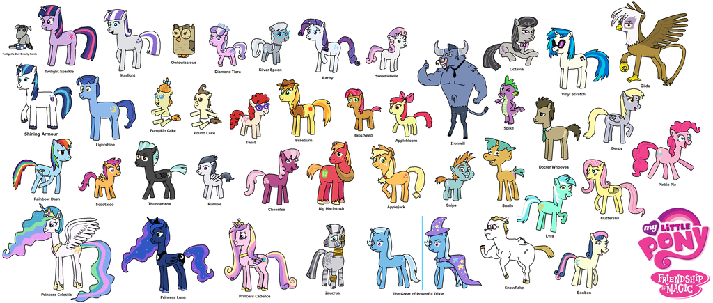 What My Little Pony Are You?!