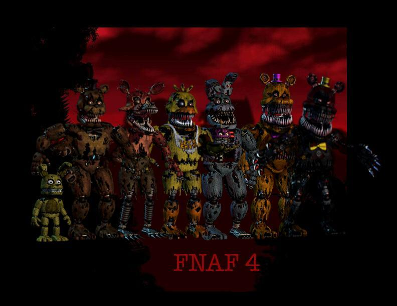 Which FNaF 4 Animatronics Are You?