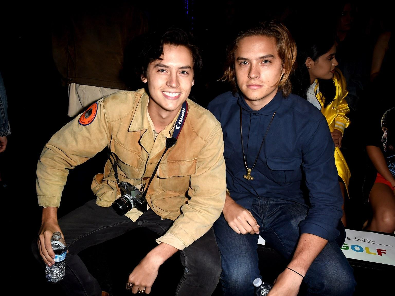 Can you tell the difference between the Sprouse Twins?