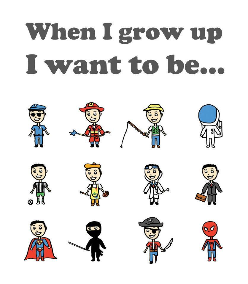 what will you be when you grow up essay