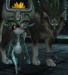 Are you Midna Or Wolf Link?