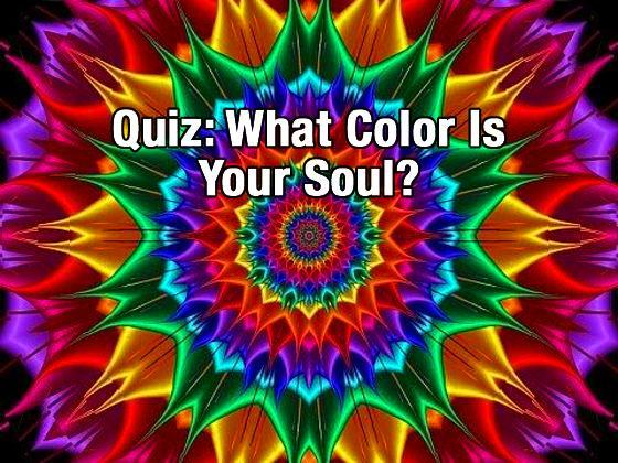 What color is your soul? (1)