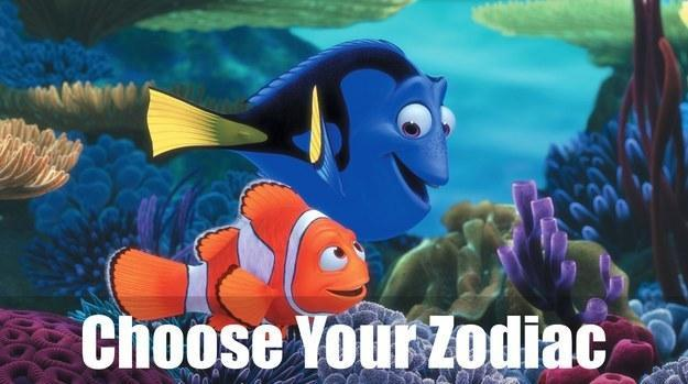 Which Finding Nemo Character Are You Based On Your Zodiac Sign?